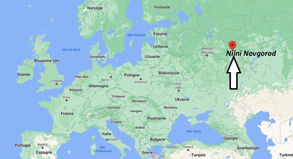 Où se trouve Nijni Novgorod