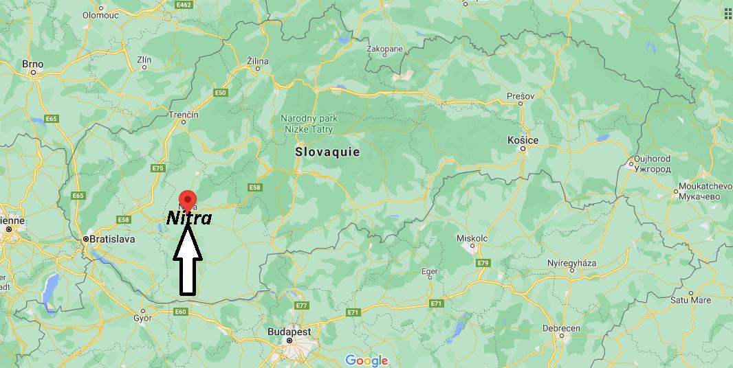 Où se trouve Nitra