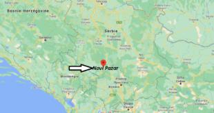 Où se trouve Novi Pazar