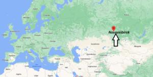 Où se trouve Novossibirsk