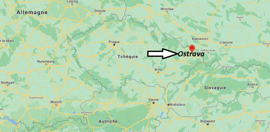 Où se trouve Ostrava