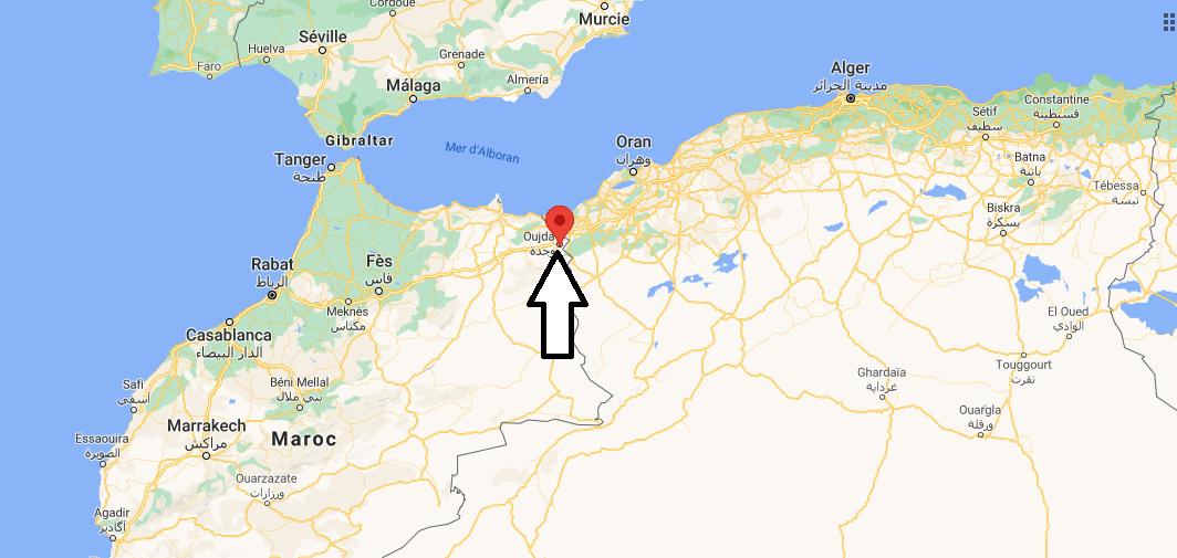 Où se trouve Oujda