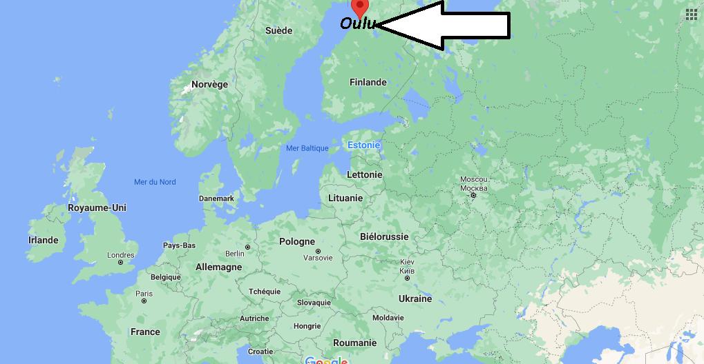 Où se trouve Oulu