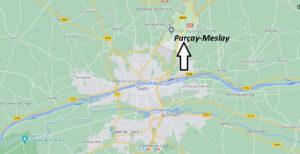 Où se trouve Parçay-Meslay