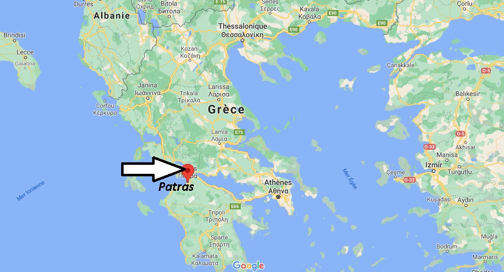Où se trouve Patras