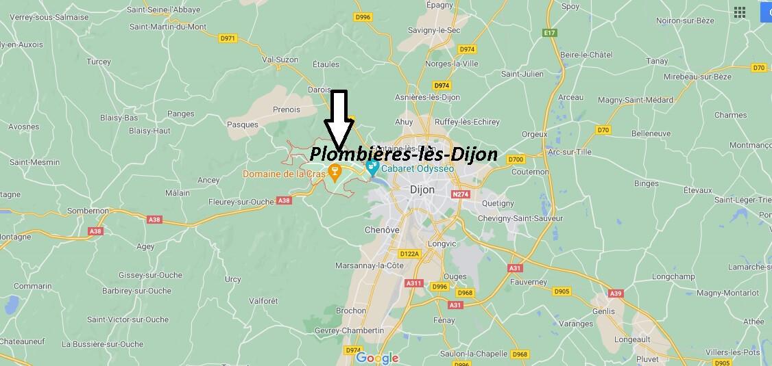 Où se trouve Plombières-lès-Dijon