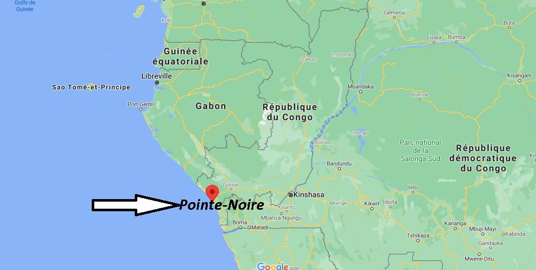 Où se trouve Pointe-Noire