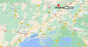 Où se trouve Poulx