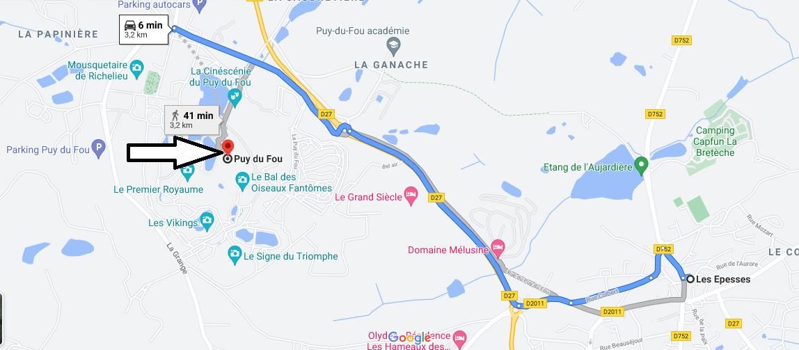 Où se trouve Puy du Fou