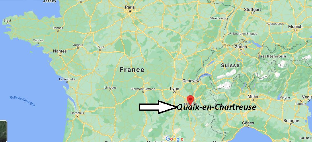 Où se trouve Quaix-en-Chartreuse