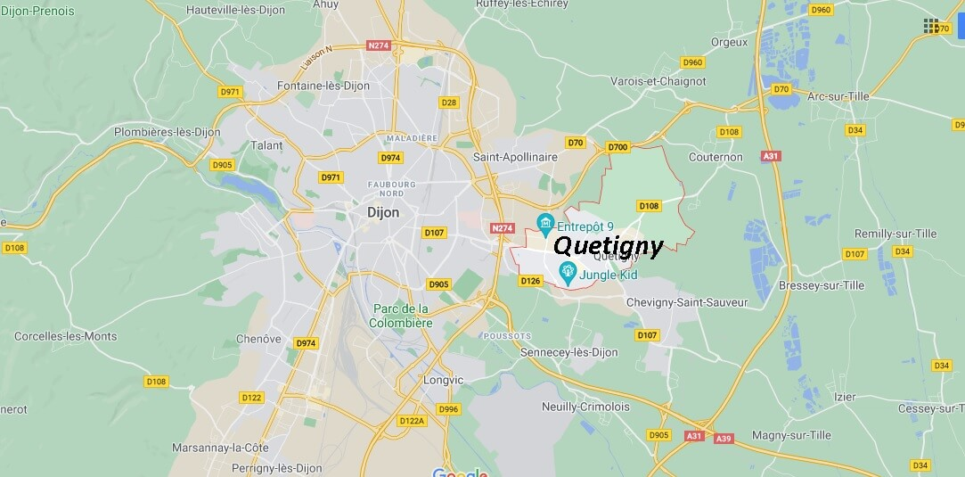 Où se trouve Quetigny
