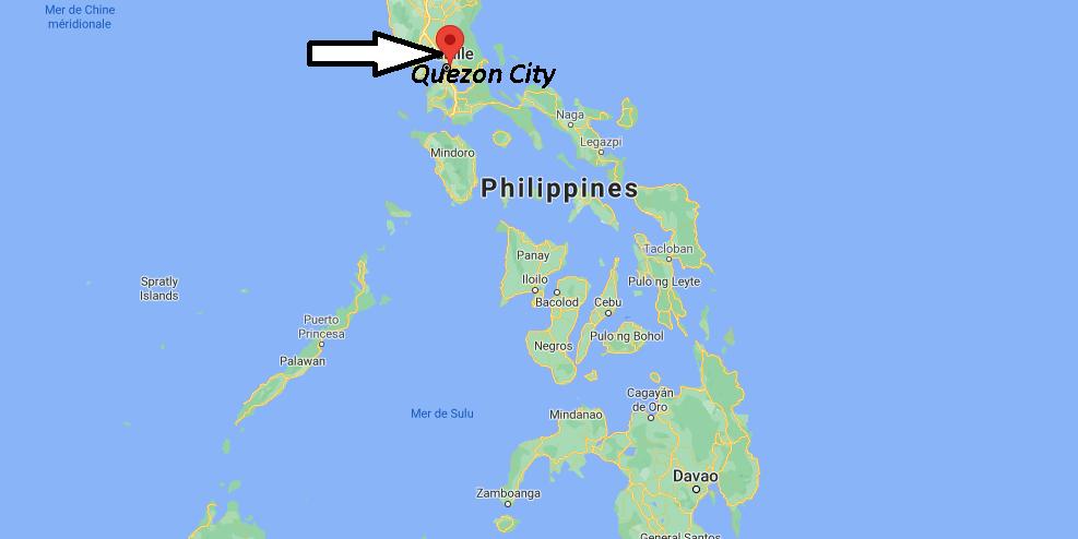 Où se trouve Quezon City
