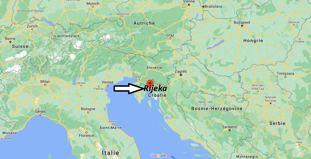 Où se trouve Rijeka