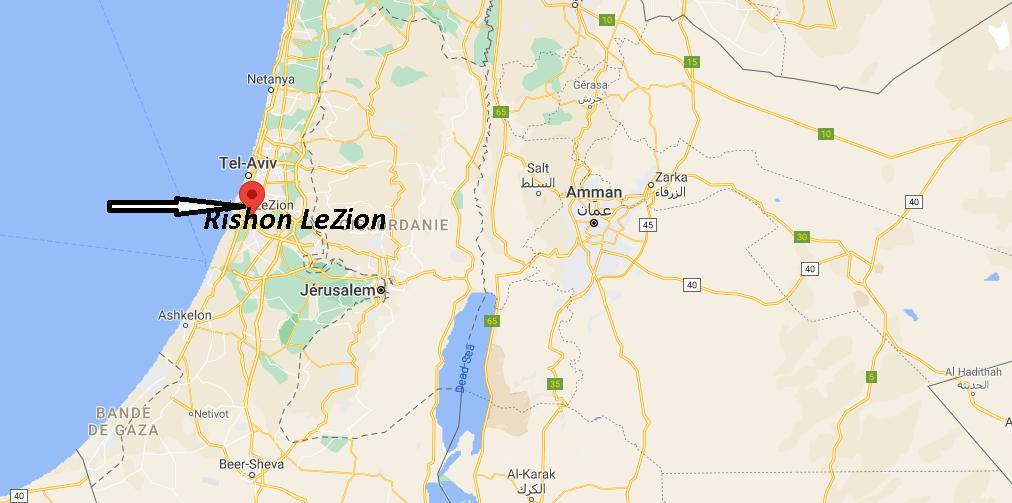 Où se trouve Rishon LeZion