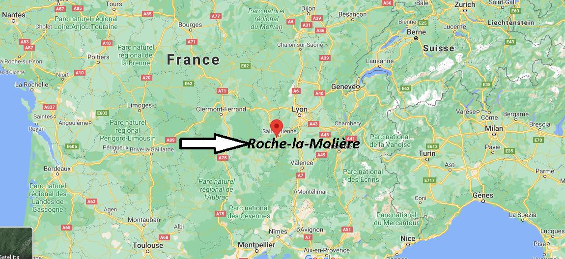 Où se trouve Roche-la-Molière