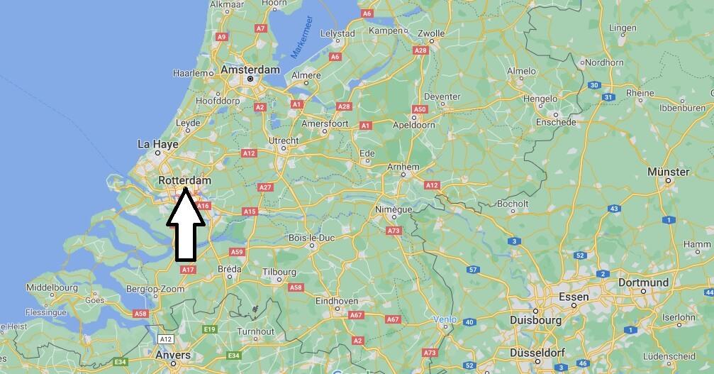 Où se trouve Rotterdam