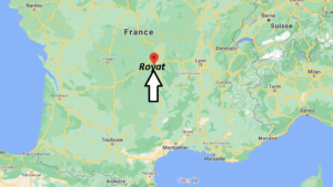 Où se trouve Royat