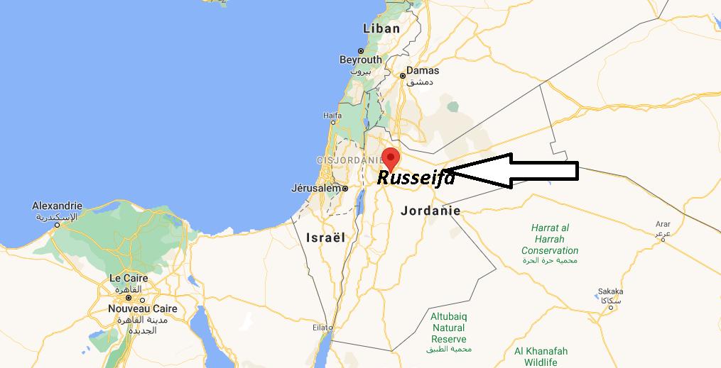 Où se trouve Russeifa