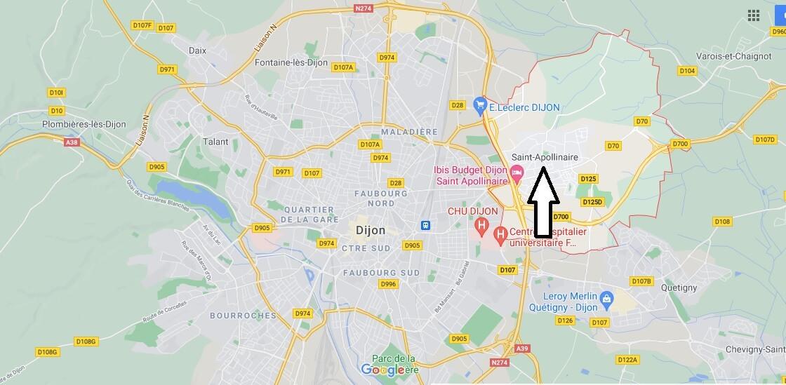 Où se trouve Saint-Apollinaire