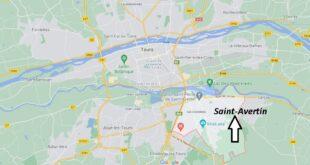 Où se trouve Saint-Avertin