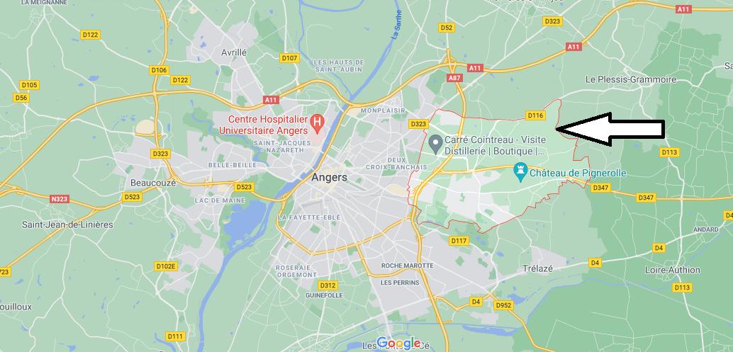 Où se trouve Saint-Barthélemy-d-Anjou