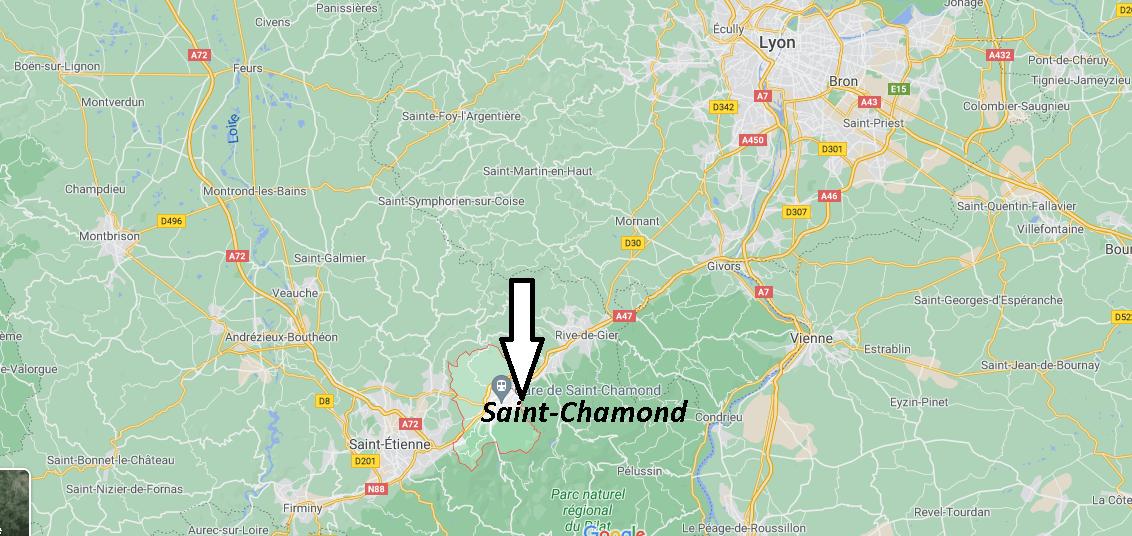 Où se trouve Saint-Chamond