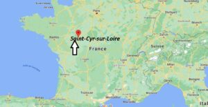 Où se trouve Saint-Cyr-sur-Loire