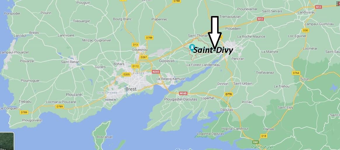 Où se trouve Saint-Divy