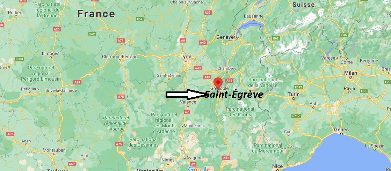 Où se trouve Saint-Égrève