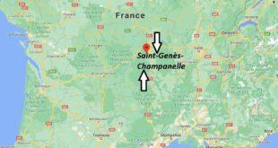 Où se trouve Saint-Genès-Champanelle