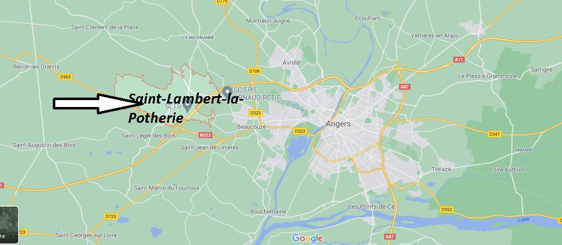 Où se trouve Saint-Lambert-la-Potherie