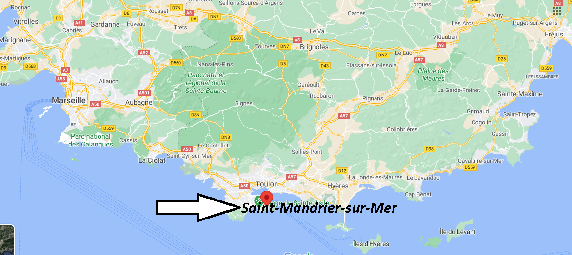 Où se trouve Saint-Mandrier-sur-Mer