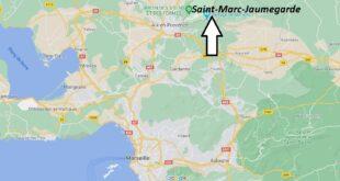 Où se trouve Saint-Marc-Jaumegarde