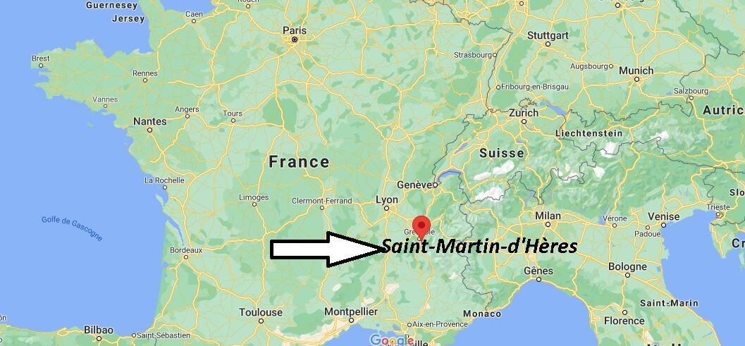 Où se trouve Saint-Martin-dHères