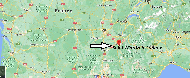 Où se trouve Saint-Martin-le-Vinoux