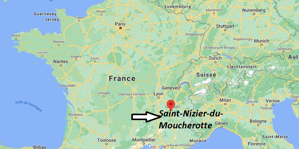 Où se trouve Saint-Nizier-du-Moucherotte