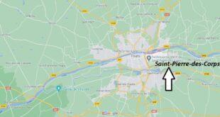 Où se trouve Saint-Pierre-des-Corps