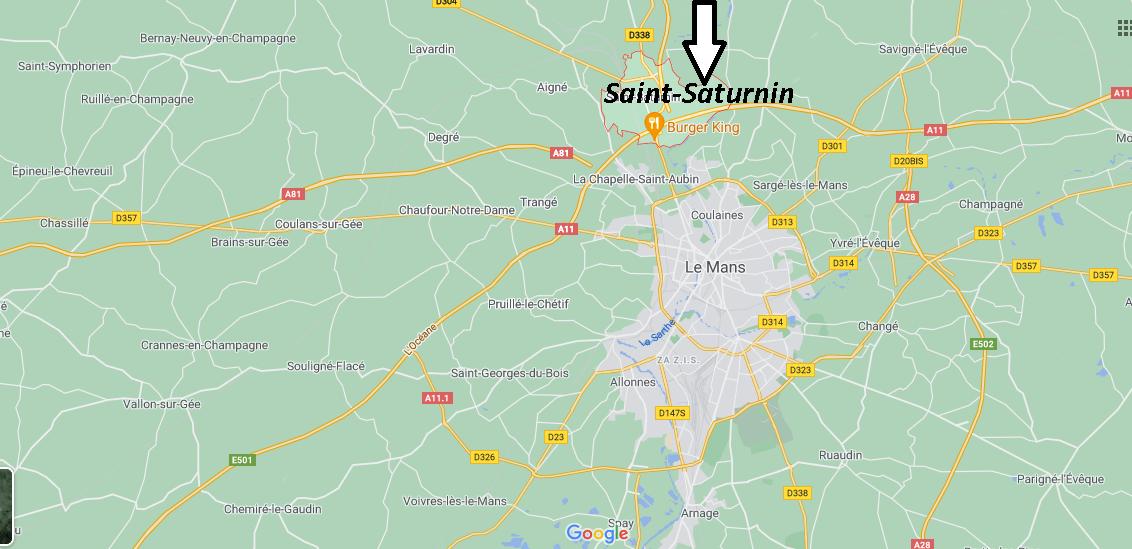 Où se trouve Saint-Saturnin