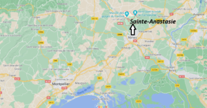 Où se trouve Sainte-Anastasie