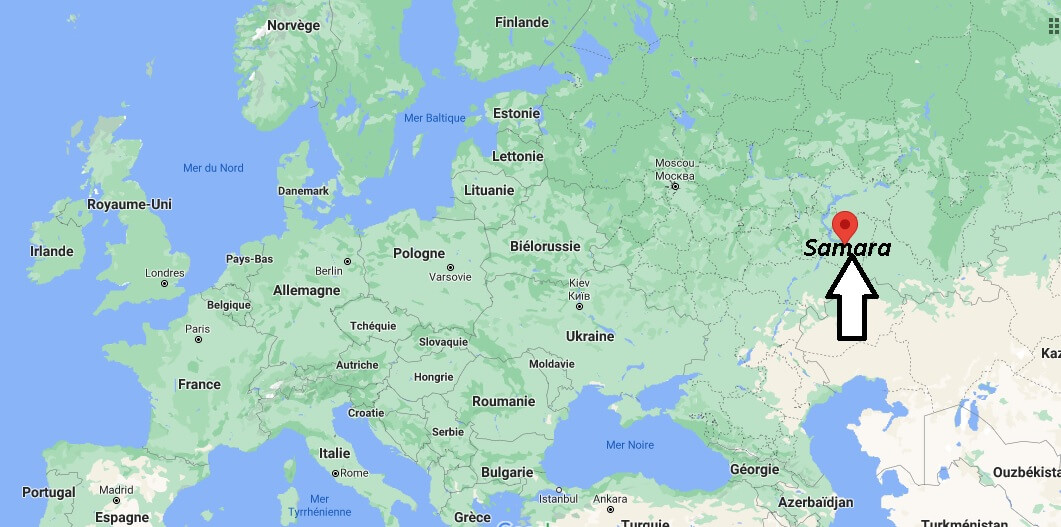 Où se trouve Samara