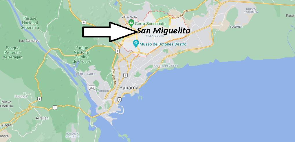 Où se trouve San Miguelito