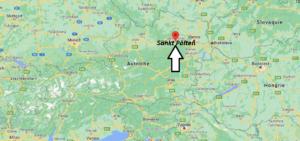 Où se trouve Sankt Pölten