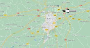 Où se trouve Sargé-lès-le-Mans