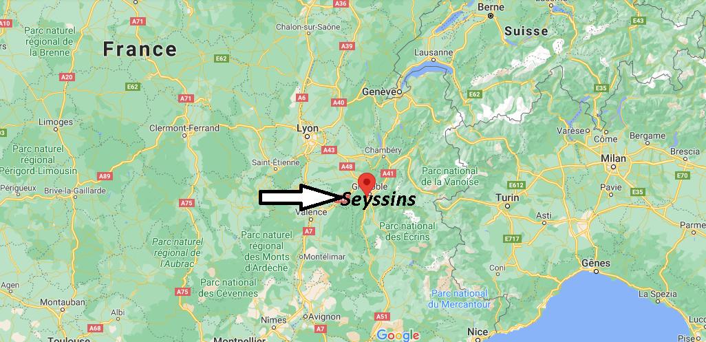 Où se trouve Seyssins