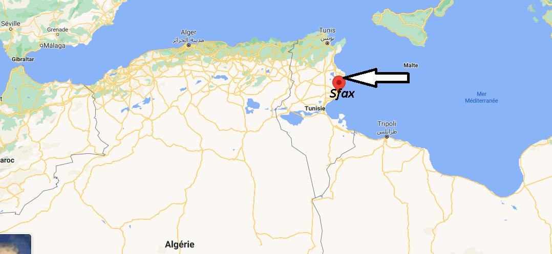 Où se trouve Sfax