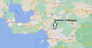 Où se trouve Simiane-Collongue