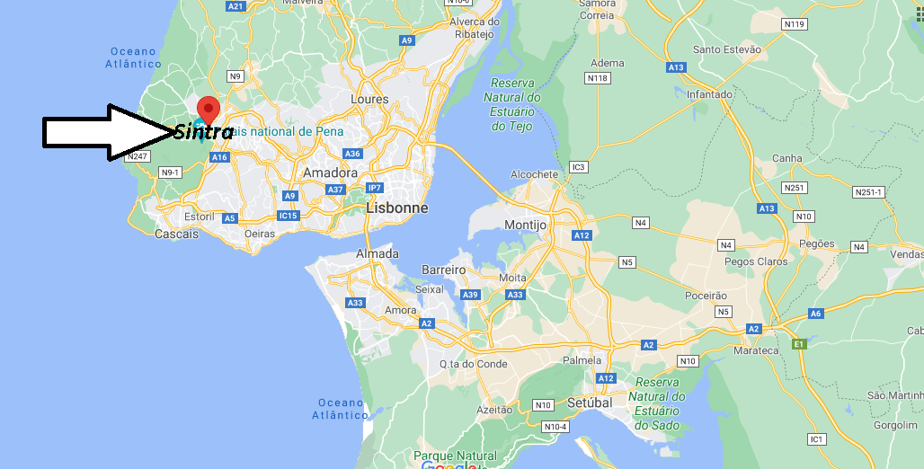 Où se trouve Sintra