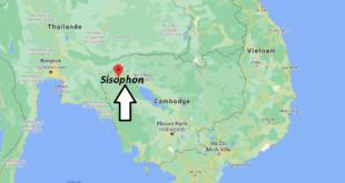Où se trouve Sisophon