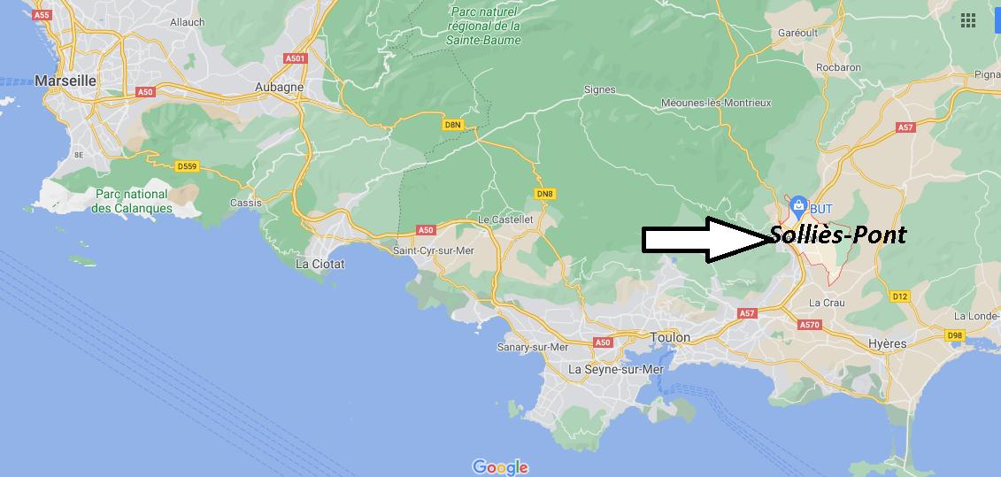 Où se trouve Solliès-Pont