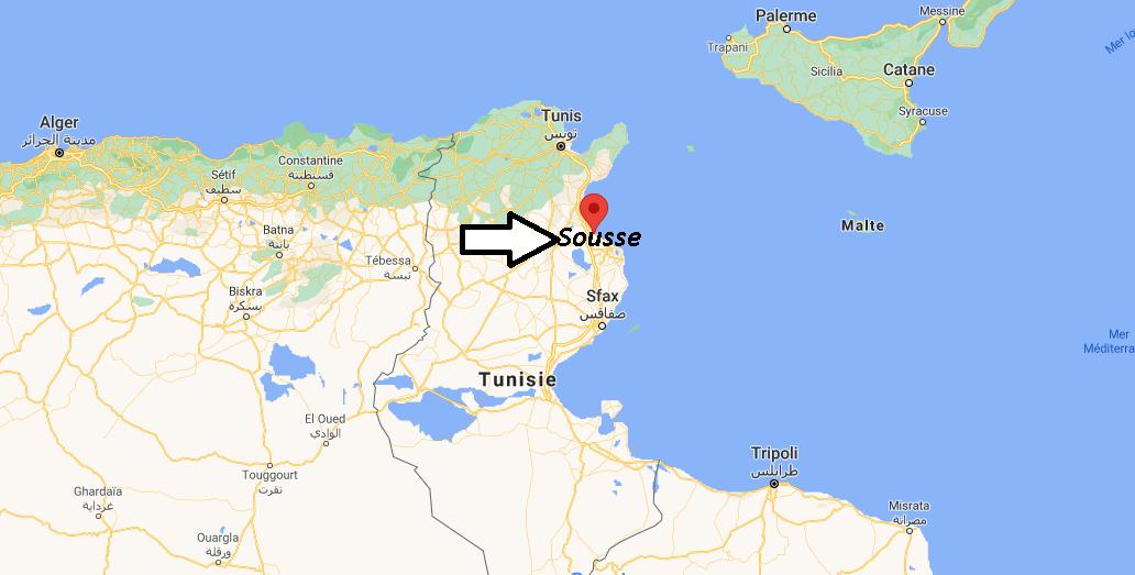 Où se trouve Sousse